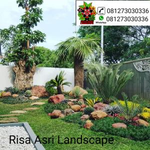 Gambar taman rumah minimalis,  taman kering,  taman villa,  taman mediterania,  taman minimalis batu alam,  taman moderen,  taman bali,  tukang taman